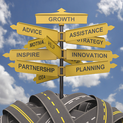 Several options for real estate business growth.